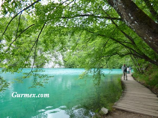 Plitvice Milli Parkı Zagreb Hırvatistan