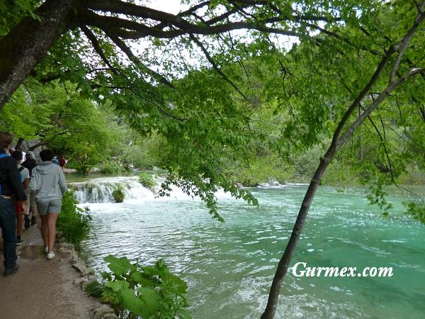 Plitvice Milli Parkı National Park Hırvatistan