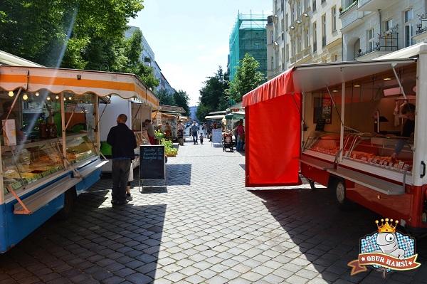 Berlin Ne Yenir, berlin-acik-pazar