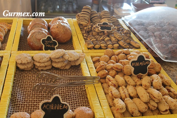 Çiçek Pastanesi kurabiyeler