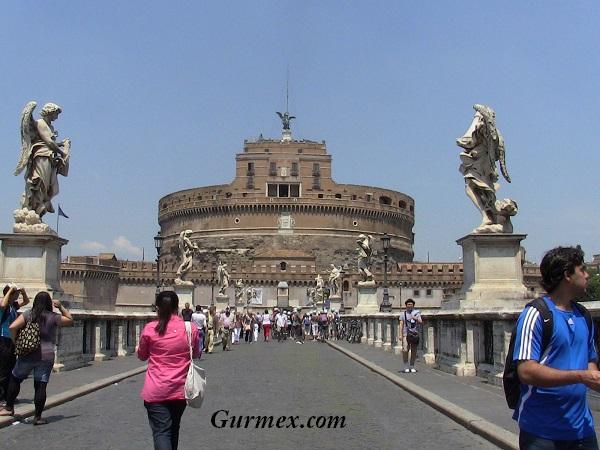 Roma Castel Sant Angelo - Melek Kalesi