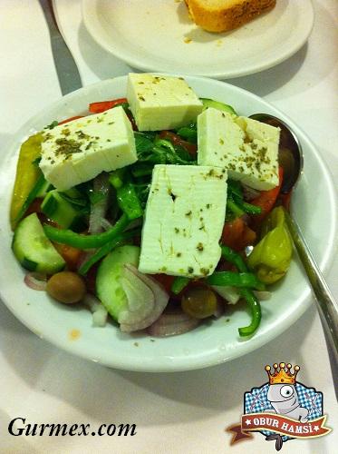 Midilli'de ne yenir,salata nerede yenir