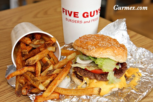 Five Guys burger Manhattan Amerika New York Hamburger