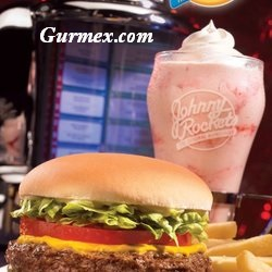Hamburger Johnny Rockets Hoboken Amerika 2