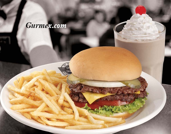 Steak n Shake Hamburger Manhattan Amerika