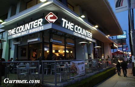 The Counter New York Hamburger