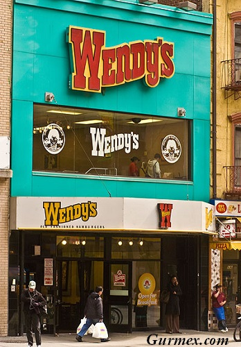 Wendy's New York Hamburger