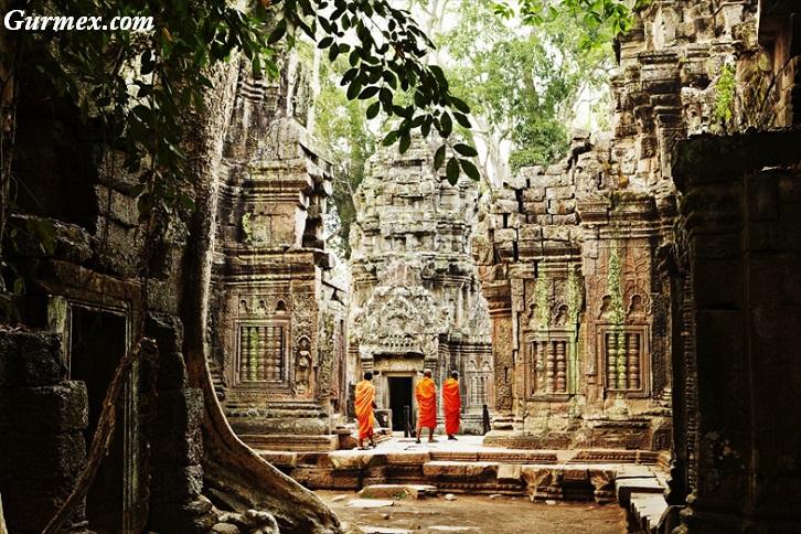 Kamboçya gezilecek yerler