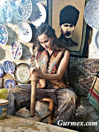 Chez Hakan Kapadokya,Çömlek nasıl yapılır