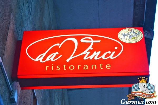 Berlin Yeme İçme, Berlinde pizza nerede yenir,da vinci restaurant berlin