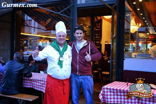 Berlin Yeme İçme, Berlin pizza,da-vinci-restaurant-oktay-usta