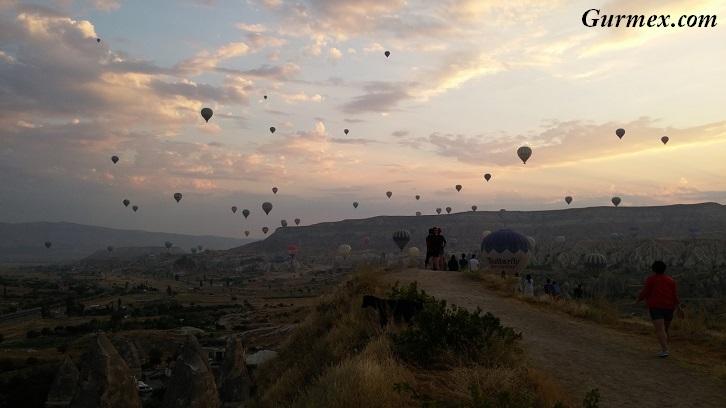 Kapadokya'da balonlar nerede izlenir