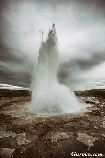 İzlanda Gezi Yazısı,gayzer geysir geiser
