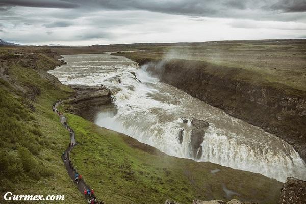 İzlanda Gezi Yazısı,gulfoss şelalesi
