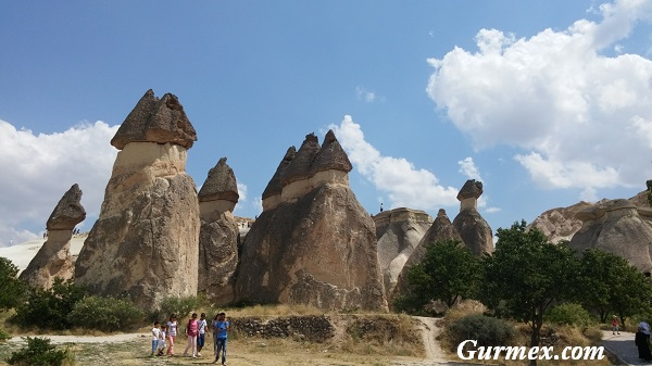 Paşabağ peri bacaları Kapadokya
