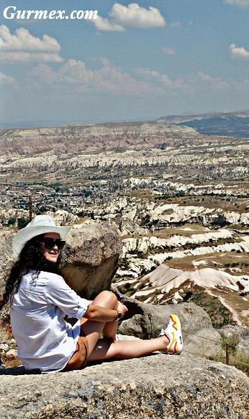 Uçhisar kalesi nasıl gidilir Kapadokya