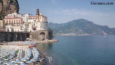 Amalfi Kıyıları gezi rehberi atrani