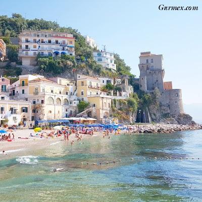 Amalfi Kıyıları gezilecek yerler cetara