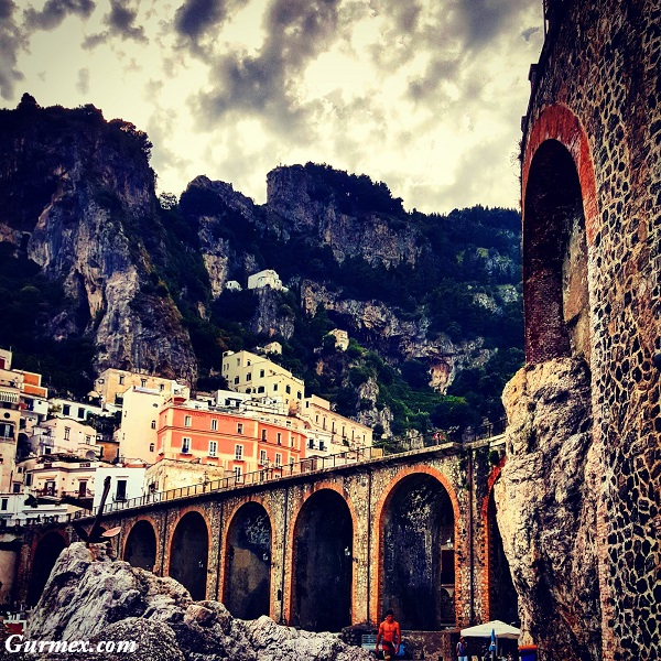 Amalfi Kıyıları gezilecek yerler, atrani italya
