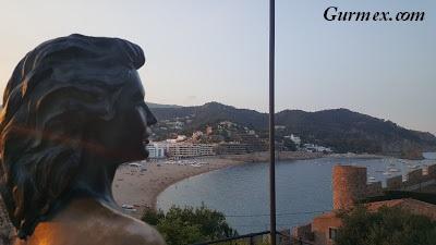 Costa Brava Vila Vella Kalesi ispanya turu