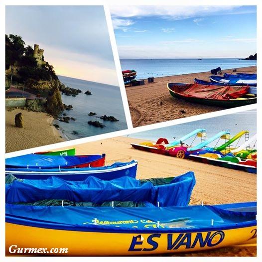 Costa Brava llorent de mar ispanya