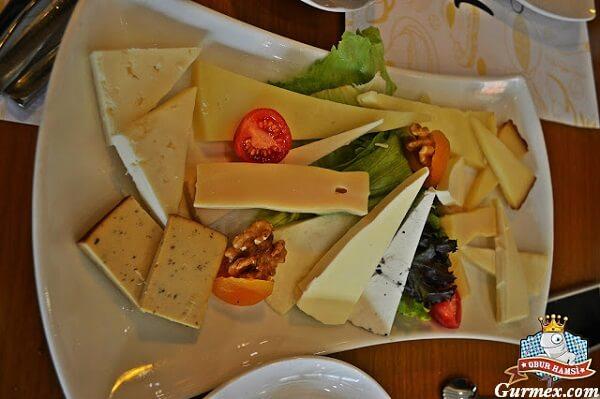 Peynir tabağı Kahvaltı Kulübü