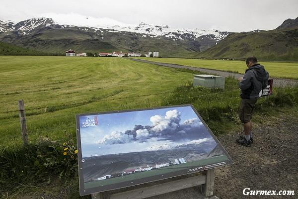 İzlanda Gezi Rehberi, izlanda yanardağ patlama noktası