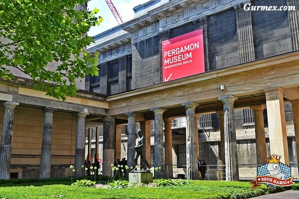 Berlin Müzeler ada,Berlin-Pergamon-museum-nerede