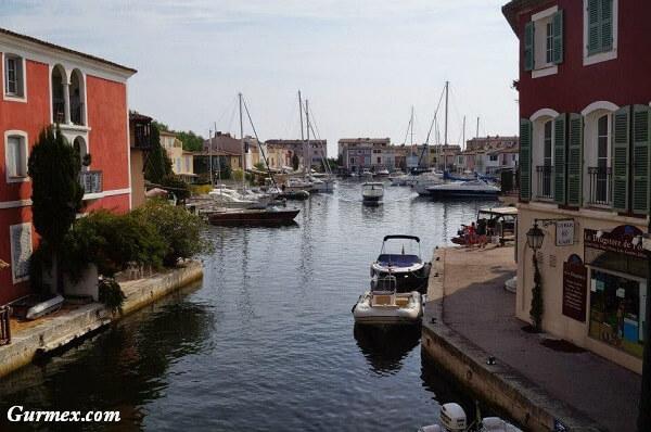 Port Grimaud kanal şehri Saint Tropez fransa
