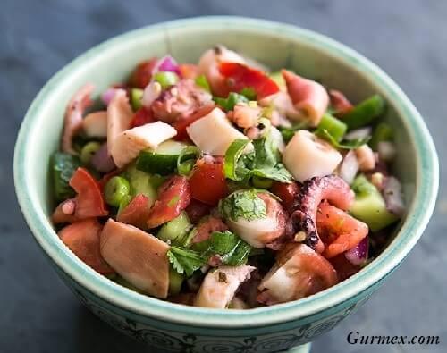 Lizbon yeme içme yerleri, ahtapot salatası