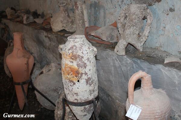 Bozcaada Kalesi amphora nedir
