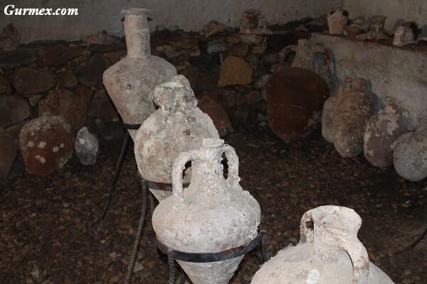 Bozcaada Kalesi amphoralar ne işe yarar nerede kullanılır
