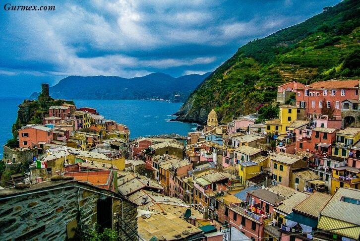 vernazza gezilecek yerler Cinque Terre