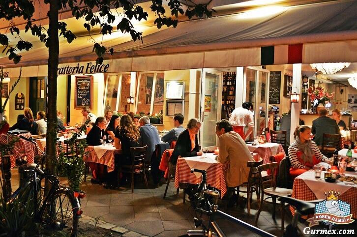 berlin Trattoria Felice italian restaurant