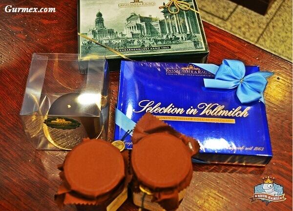 Berlin'de çikolata Fassbender und Rausch