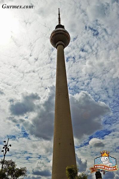 Berlin Duvarı,berlin televizyon kulesi