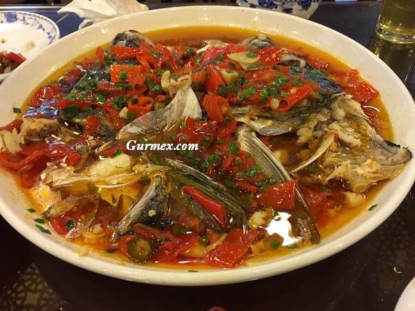 Çin'de bulunan yemekler, Çin yemekleri isimleri