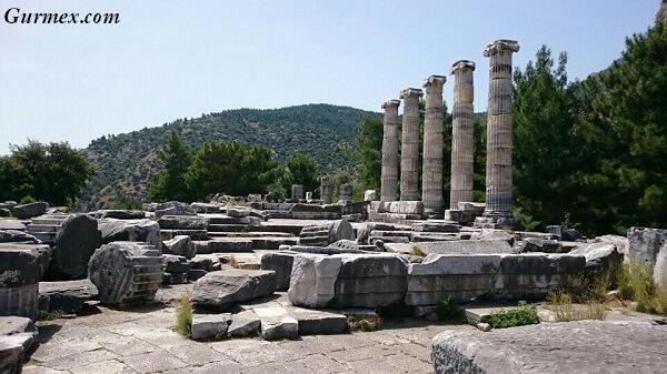 Aydın gezilecek yerler,priene-antik-kenti-soke-aydin-gezi-seyahat-rehberi