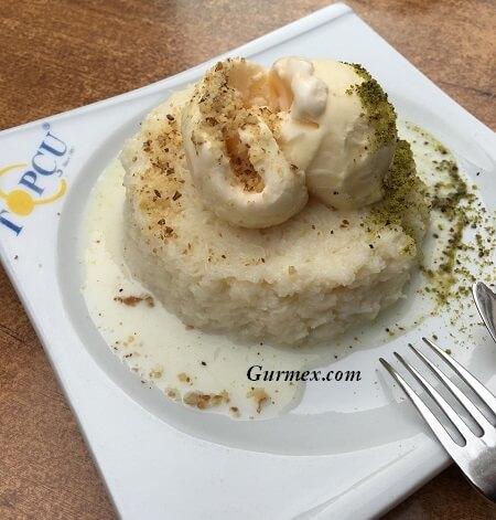 Topçu Restaurant Alsancak, İzmir'de tatlı nerede yenir