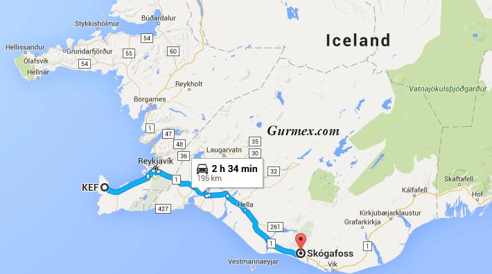 izlanda kış Skogafoss-iceland -ne-yapilir-ne-alinir