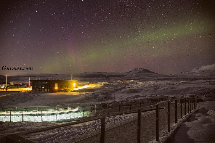 İzlanda konaklama kalacak yerler İzlanda Kuzey Işıkları