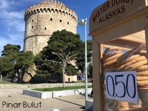 Balkan Gezisi Selanik beyaz kale Yunanistan
