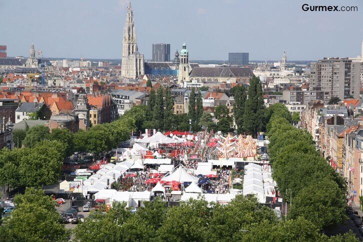Antwerp (Anvers) Lezzet Festivali Belçika