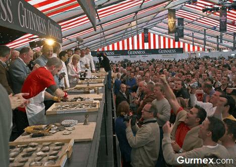 Gurmelere özel etkinlik,irlanda-galway-istiridye-festivali