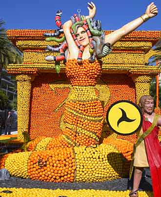 Gurme Festivalleri,menton-limon-gida-festivali-fransa