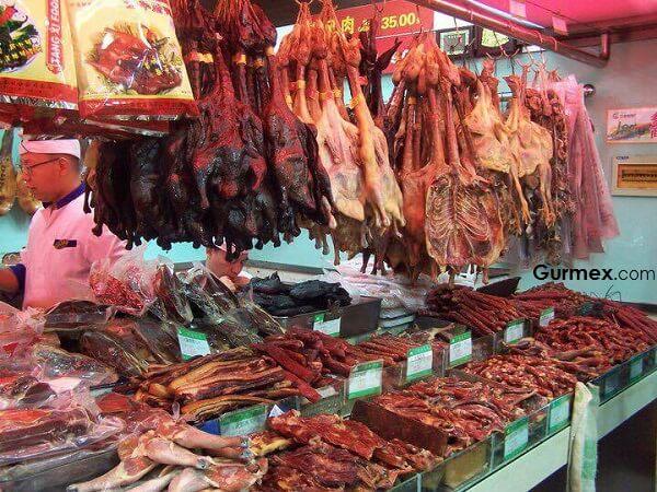 Çin Yeme İçme, Çinde ne yenir kurutulmuş hayvanlar