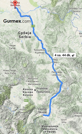 Otobüsle Balkan Turu gezi blog