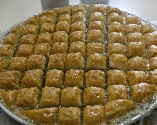 Baklava Gaziantep Yemekleri