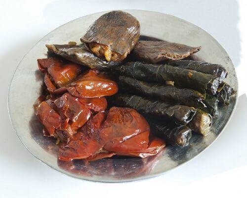 Nakışlı Kuru Dolma Gaziantep Yemekleri