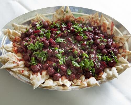 Vişne Kebabı Gaziantep Yemekleri